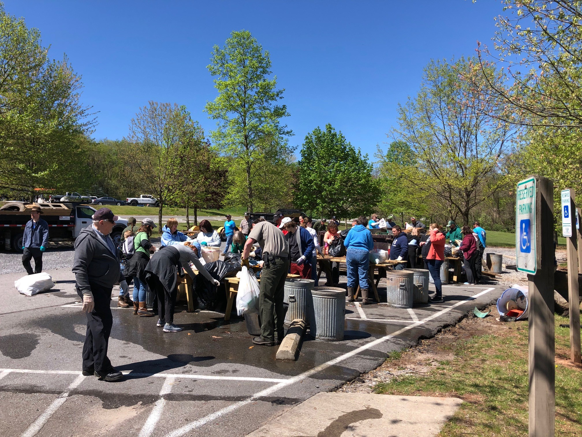 RaystownCleanup10 - Celebrating Earth Day in Pennsylvania