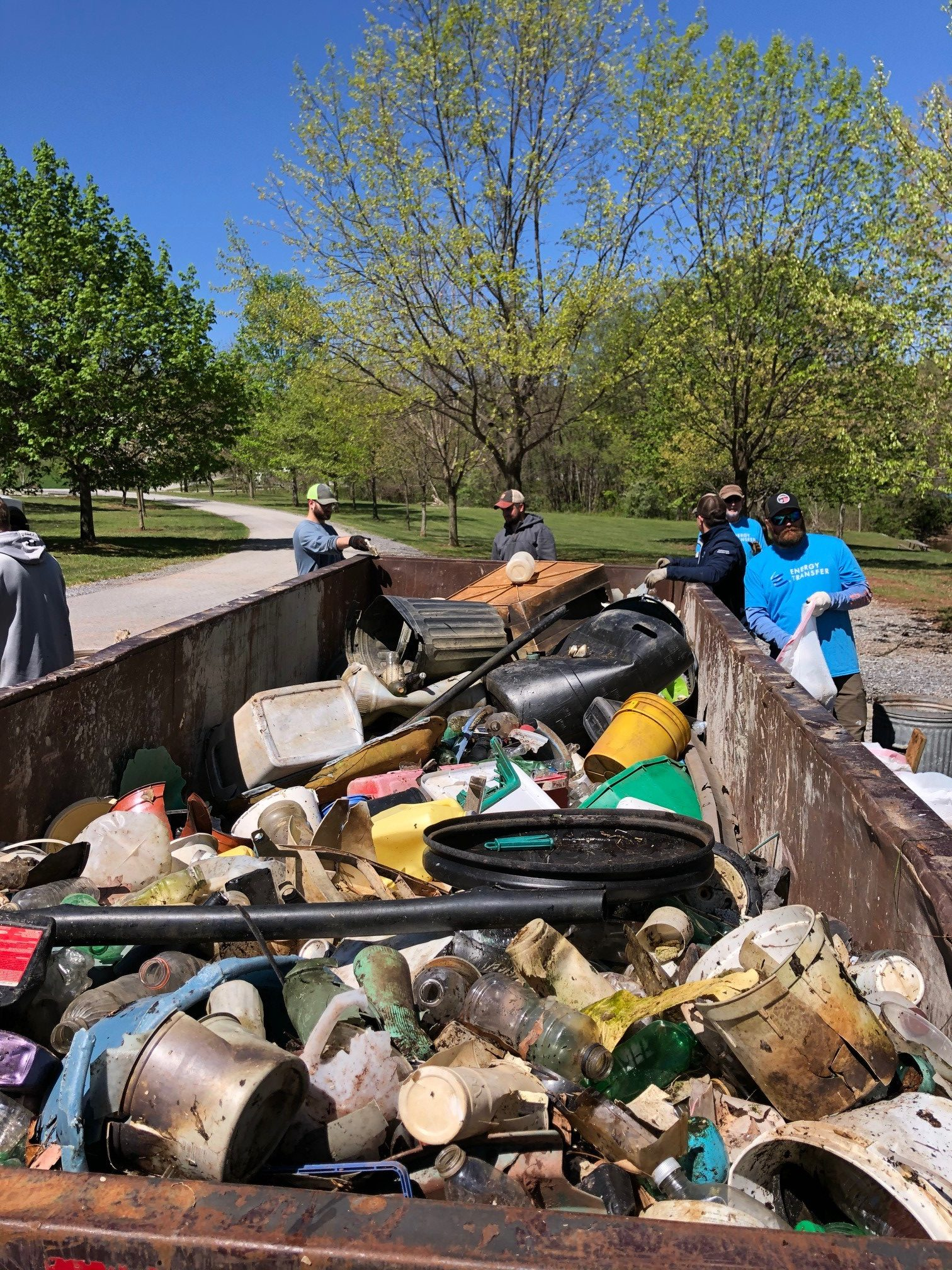RaystownCleanup8 rotated - Celebrating Earth Day in Pennsylvania